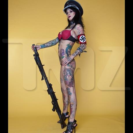 Michelle mcgee nazi nude pics